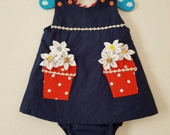 Dress and matching panties