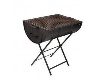 Drumbecue Original Half Charcoal BBQ Drum Grill