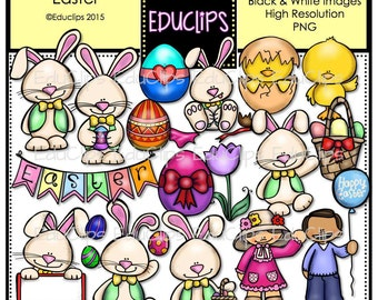 Easter Clip Art Bundle