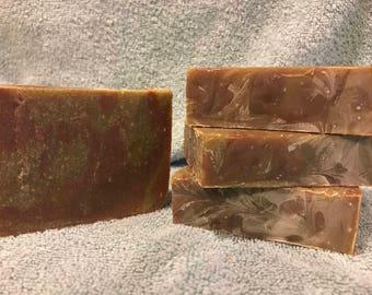 Chocolate Fudge Soap Bars