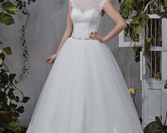 Wedding dress wedding dress wedding dress judi princess dress beadwork lace ivory pompous bead embroidery