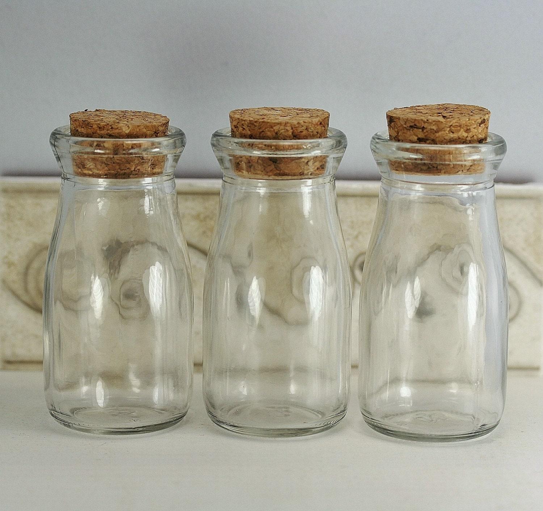 12 Corked Bottles 35 Oz Milk Bottles 100ml Baby Shower Favor