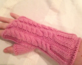 Adult's Fingerless Gloves