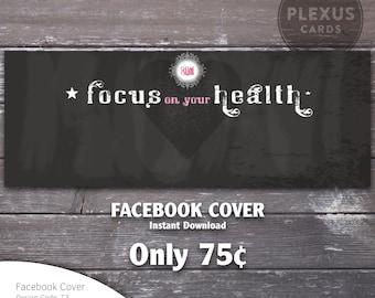 Plexus Facebook Cover Chalkboard design - Instant Download