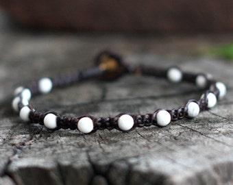 Omit Howlite Beads Bracelet