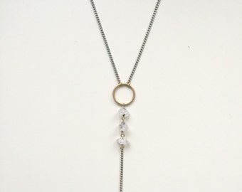 Hermimer Diamond Crystal Necklace
