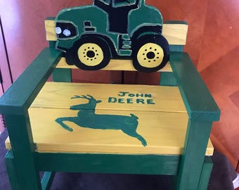 John Deere Tractor Chair