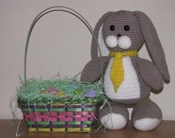 Amigurumi Oscar the Bunny Rabbit Crochet Pattern