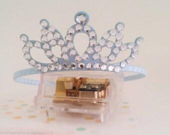 Tiara headband, tiara, Cinderella tiara, cinderella,tiata,girl headband.Acrylic stone,Mini tiara headband
