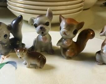 1950s-1960s porcelain figures