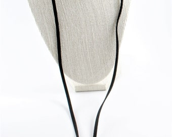 BASIC Black Choker Necklace,  Black  Choker Necklace,  Choker for women, Black Regular Necklace Choker, Chokers,  Black Necklace