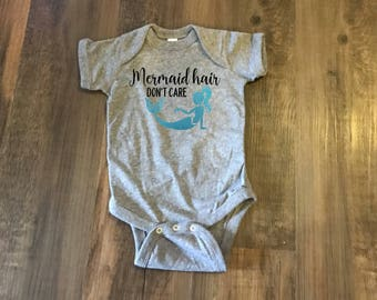 Mermaid Hair Bodysuit