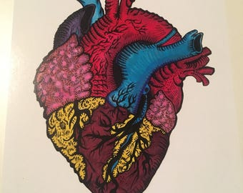 "5x8 ""Heartless"" glossy print"