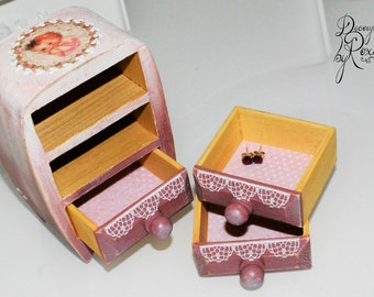 Baby jewelry box baby keepsake box baby keepsake gift baby girl gift baby gift one of a kind gift baby shower gift