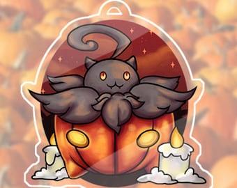 Pumpkaboo Pokemon Acrylic Charm