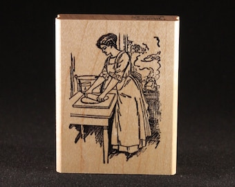 "Baking Rubber Art Stamp (2"" x 3"")"