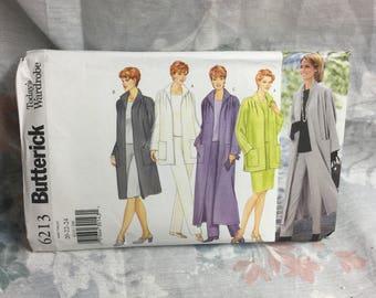 Butterick 6213 women's jacket pants skirt and top lagenlook Sewing Pattern Uncut Sz 20-22-24