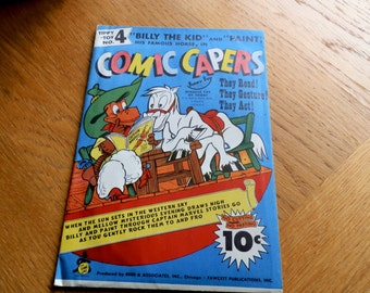Tippy-Toy No.4- Comic Capers-1940's Cardboard Fun