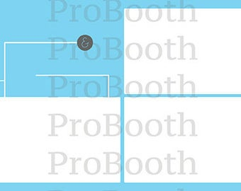 Photo Strip Template for Photo Booths | 4103