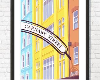Carnaby Street Art Print