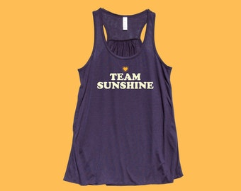 Team SUNSHINE - Fit and Flowy Tank