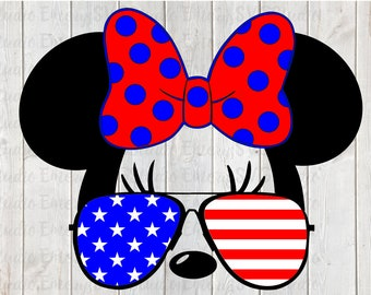 Patriotic Minnie Etsy