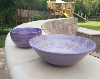 Lilac Serving Bowl