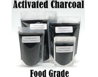 Activated Charcoal Powder 100% Pure Natural FOOD GRADE Coconut Shell or Hardwood Great as a Teeth Whitening toothpaste Bulk Wholesale