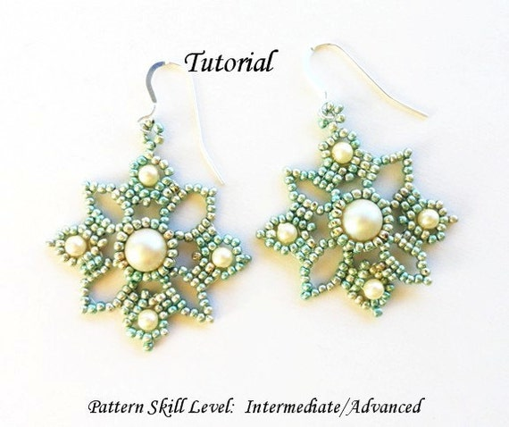pattern earrings beaded empress star crystal products felicity tutorial pdf large beading jewellery gems ring tut