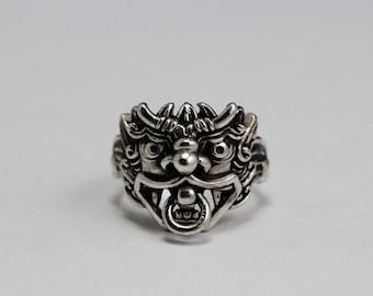 dragon ring,dragon silver ring,silver ring,925 Sterling Silver