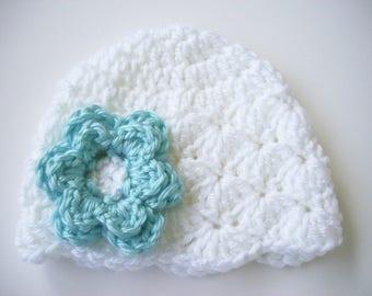 Toddler Girl Hat, Children's Hat, Winter Hat, Crochet Baby Hat, Baby Girl Hat, Newborn Hat, Newborn Photo Prop, Baby Shower Gift, Baby Girl