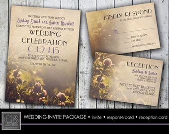 WEDDING INVITE package