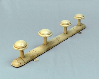 French faux bamboo hat rack