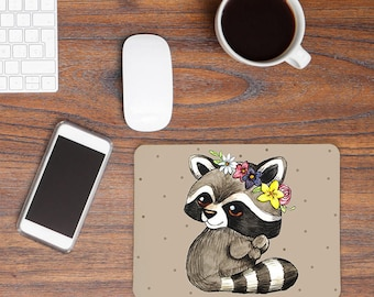 Mousepad Racoon Girl MP18