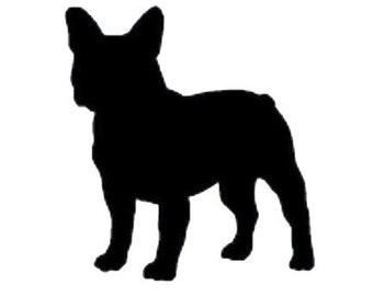 DIY French Bulldog Vinyl Decal , Frenchies, Laptop Decal, Tablet Decal, IPad Decal, Car Window Decal, Cell Phone Decal, Drinkware