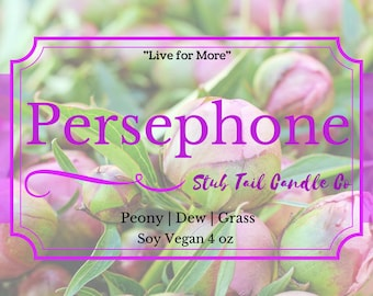 Persephone - Soy Scented Candle Inspired by Red Rising