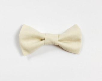 Parker Bow - Cream