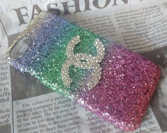 Sparkle Rhinestone iPhone 6 Case, Bling iPhone case Handmade with Love iPhone Case