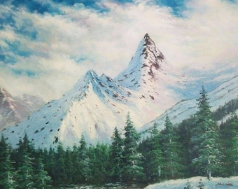 Landscapes Oil Painting, on canvas, 24#36 inch