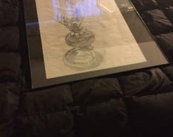 Hurricane Lamp sketch