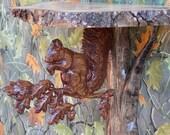 Wood Wall Sconce Shelf - ...