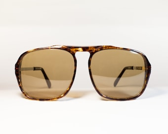 KADIMA DEAN vintage not used original men's 70s tortoise sunglasses.