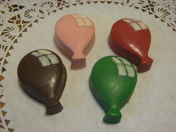 One dozen balloon shaped chocolate covered sandwich cookies