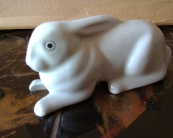 Rare Romanian ARPO Porcelain Rabbit Figurine
