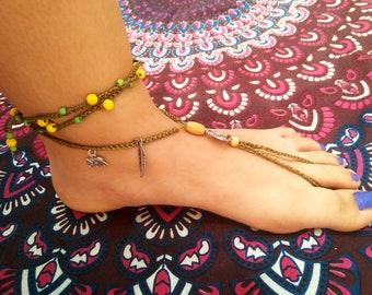 Barefoot Green sandals.