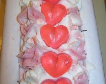 Handmade Cold Process Soap - Peony Petals Fragrance