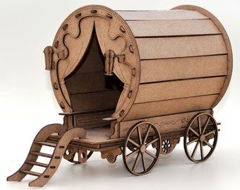 Gypsy Pot wagon kit - DIY build a Miniature wagon