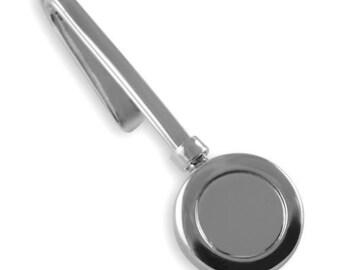Sterling Silver - NAPKIN Holder / Hook - Boxed - Silver Front