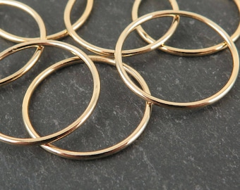 Gold Filled Stacking Ring 17.7mm ~ Size J/5/50