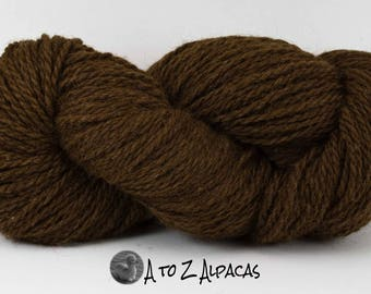 Royal Baby Natural Alpaca Yarn Chunky Weight Cocoa